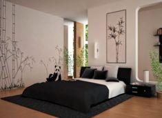 dormitorio estilo japonés abierto                                                                                                                                                                                 Más