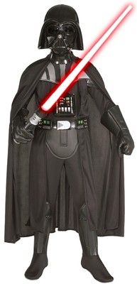 Child's Darth Vader Halloween Costume.