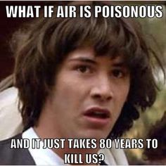 Conspiracy Keanu on air.