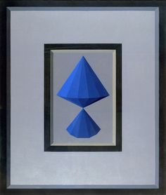De Rerum definitione(opus CXLV)1970,oil on canvas,130X110 cm.Foundation Collection Saffaro,Bologna.