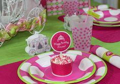 PRINCESS CASTLE Birthday Party Printable Supplies - The Celebration Shoppe