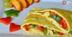 We eat omelettes a lot at our house. It's the perfect vehicle for starting your kids on veggies.