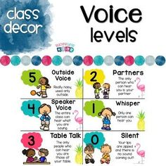 Pineapple and Flamingo Voice Level Chart FREEBIE Voice Level charts are a great way to regulate voice levels within the classroom. Using a voice level. Classroom Behavior Chart, Classroom Freebies, Behavior Charts, Classroom Decor, Eyfs Classroom, Classroom Labels, Kindergarten Classroom, Behavior Management, Classroom Management