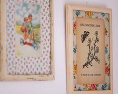So cute.  find some nice vintage pictures and vintage wallpaper (or fabric) for the background, and give the frames an aged look. #crafts