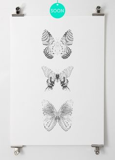 Butterflies / Matt(H)Booth | Design Graphique