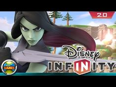 Disney Infinity 2.0 Gamora Gameplay