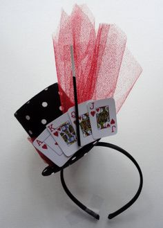 Card Player or Magicians Party Top Hat by alphabulous on Etsy, $18.00