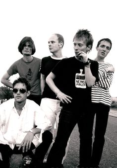 #Radiohead - Milton Keynes Bowl, june 1995 - NME session - By Andy Willsher