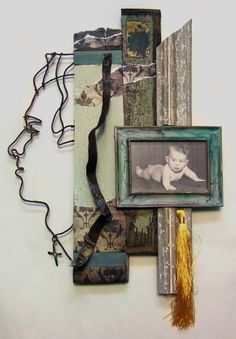 recent assemblage work by joel armstrong, via Behance