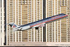 MD-83 Departing Las Vegas McCarran International.