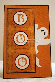 Stampin' Up! Lovely Letters Halloween card