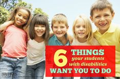 6 Things Your Students with Disabilities Want You to Do Inclusive Education, Want You, Disability, Special Education, Insight, Students, Teaching, Couple Photos, Blog