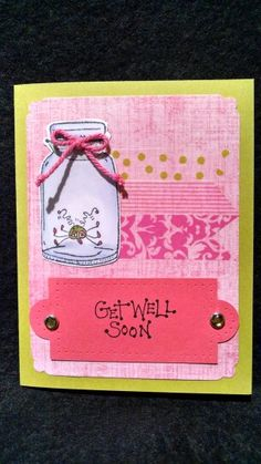 Get Well card for Mary 2014