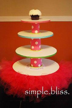 DIY Handmade Cupcake Stand
