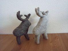 羊毛フェルト トナカイ 北欧画像1