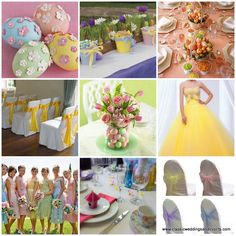 Easter themed event decorations, perfect for your next bridal shower, baby shower, wedding reception or corporate event here at Orlando's!