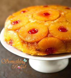 Pineapple upside down cake - Home Bakery, Eggless Cakes, Cake  Somethingbaked