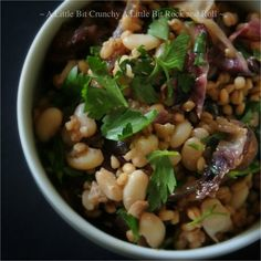 Pearl Barley with Rosemary & Radicchio | Community Post: 30 Delicious Meals In A Bowl