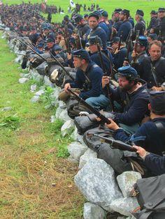 Gettysburg — The Liberty Rifles American Revolutionary War, African American History, American Civil War, Union Army, Western Union, Military Veterans, Military Art, Us History, Ancient History
