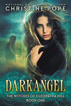 book cover - Darkangel - Christine Pope - PNR, paranormal romance