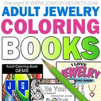 ►► ADULT JEWELRY COLORING BOOKS ►► Jewelry Secrets