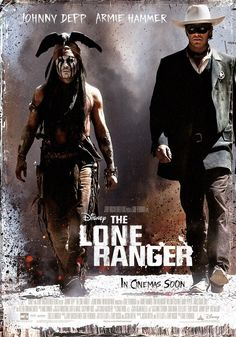 """The Lone Ranger - """"The Lone Ranger: What does Kemosabe mean? Tonto: It means I chose the wrong brother!"""""""