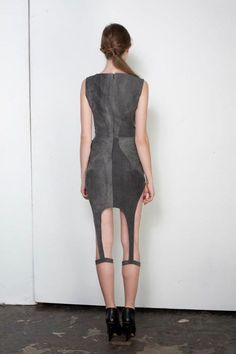 Kristofer Kongshaug Paris -- S/S 2012. / Dress with Leg Garters