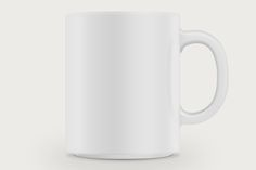 Mockup your own designs with this pixel perfect, minimal coffee mug psd file. You can choose any color cup to use and it couldn't be easier to place your own artwork onto the mug using Smart