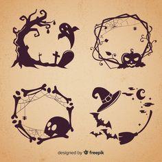 Halloween Clipart Free, Halloween Logo, Halloween Vector, Vintage Halloween, Free Halloween Clip Art, Halloween Pillows, Halloween Borders, Halloween Silhouettes, Graph Paper Art