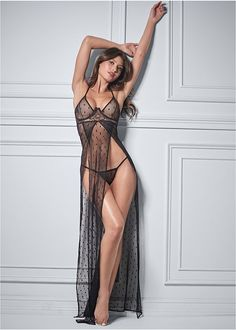 Flowy Gown, Maxi Gowns, Sheer Lingerie, Women Lingerie, Venus Swimwear, Women's Swimwear, Swimsuits, Bikinis, Sexy Poses