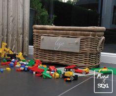 Kleine speelgoedkoffer (51x28x28cm)