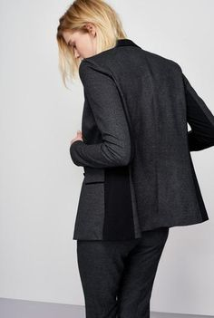 #Long Tall Sally - #Long Tall Sally Tall The Comfort Fit Suit Jacket at Long Tall Sally - AdoreWe.com