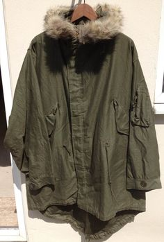 Original Unissued M-1948 Fishtail Parka....handful in the world