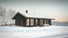 Leve Hytter Cottage Style House Plans, Cottage Style Homes, Fishing Shack, Ice Fishing, Cabin Fever, Architecture, House Styles, Design, Home Decor