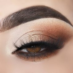 Prom / Glam Look Tutorial - Augen Make-up Tutorial - Eye Makeup Steps, Eye Makeup Art, Natural Eye Makeup, Smokey Eye Makeup, Skin Makeup, Makeup Tips, Daytime Eye Makeup, Natural Eyeshadow, Makeup Trends