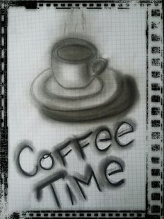 Coffee time B&W by J.Bidix