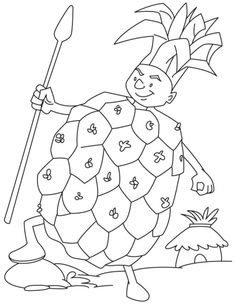 fresh juicy ornage on tree coloring page | Download Free fresh juicy ...