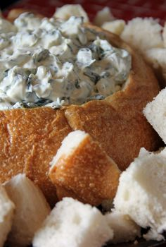Spinach Dip. Easy. Delicious. Addicting.