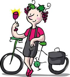 Winecycle. #illustration by @nataliaresnik  T-shirt available at ilusos.es