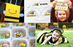 bee favor bag