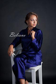 Купить Женская пижама шелк (женские пижамы шелковые) , шелковая пижама женская, шелковая пижама