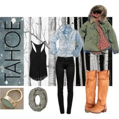 Tahoe winter fashion
