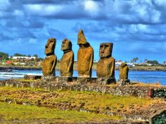 Easter Island is an isolated Polynesian island located in the southeastern Pacific Ocean