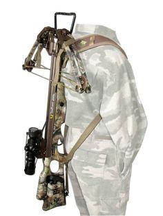 Heavy Hauler Outdoor Gear THE BACKPACKER Double shoulder gun/crossbow sling