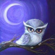 New Moon Owl