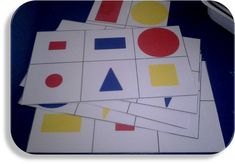 Loto formes géométriques - Plus Visual Perception Activities, Montessori Math, Numeracy, Activities For Kids, Triangle, Coding, Shapes, Education, Fun