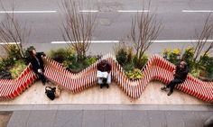 Portable ParkedBench parklet injects a breath of fresh air in London | Inhabitat - Green Design, Innovation, Architecture, Green Building