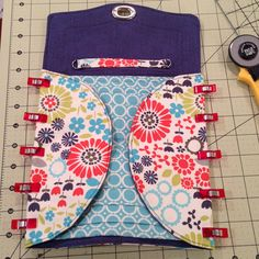 selfish sewing week: the necessary clutch || imagine gnats. Link to $8.50 pattern