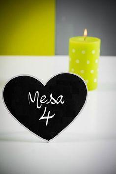 Corazón de pizarra www.trocitosdeboda.com