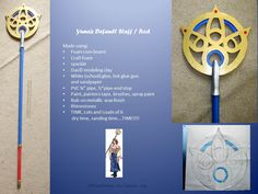 Yuna's Default Staff For when I get around to doing a Yuna Summoner cosplay